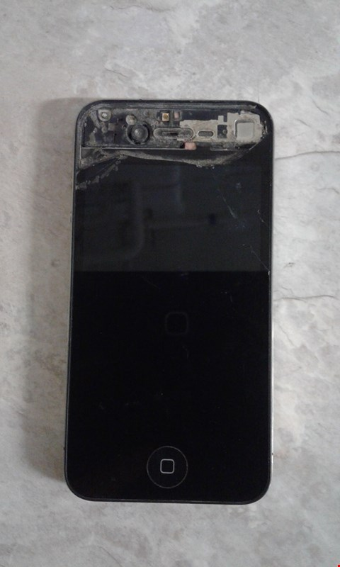Lot 9383 APPLE IPHONE 4 A1332 BLACK