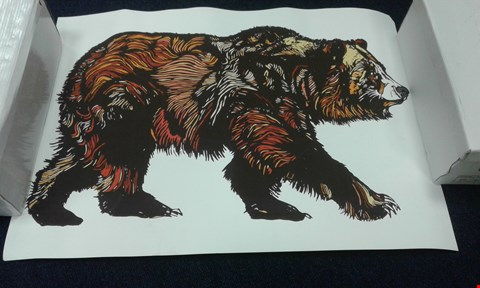Lot 8234 LUKE DIXON 'WALKING BEAR' NUMBERED 64/100