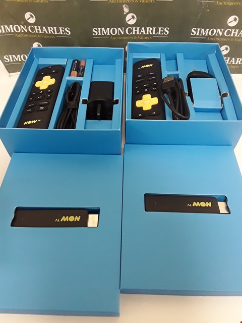Lot 216 TWO BOXED NOW TV SMART STICKS