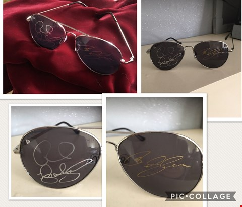 Lot 6 SHADES DONATED BY RICK AND OLIVER WAKEMAN OF YES