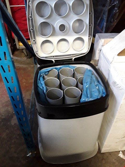 Lot 15005 TWO DISPOSABLE CUP RECYCLING BINS