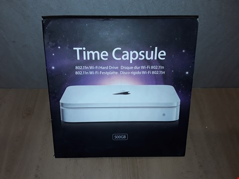 Lot 1011 APPLE TIME CAPSULE 802.11N WI-FI HARD DRIVE - 500GB