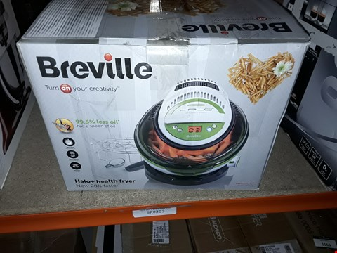 Lot 1160 BREVILLE HALO+ HEALTH FRYER