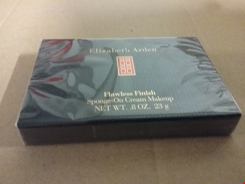 Lot 1290 2 BOXES OF BRAND NEW ELIZABETH ARDEN FLAWLESS FINISH SPONGE-ON CREAM MAKEUP 8OZ. 23G RRP £40