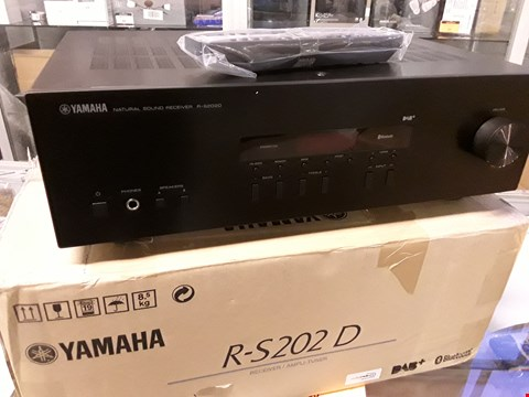 Lot 106 YAMAHA RS202D BLACK DAB/BLUETOOTH STEREO RECEIVER RRP £199.00
