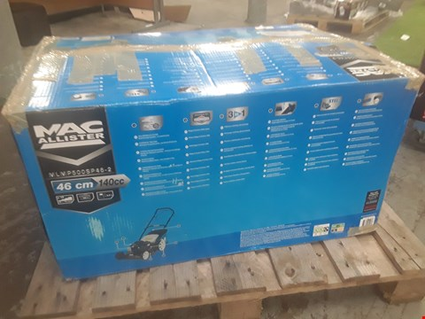 Lot 93 BOXED MACALLISTER LAWNMOWER  RRP £230