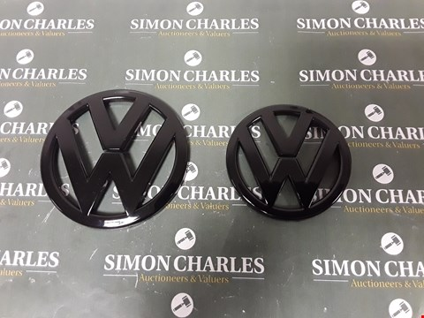 Lot 4064 PAIR OF VW BADGES FOR VW SCIROCCO 2007-2013