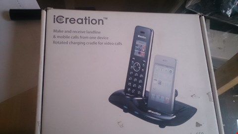 Lot 14 BOXED ICREATION PHONE