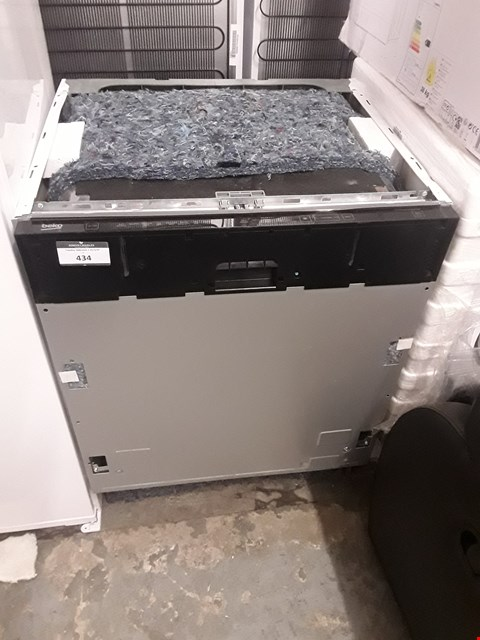 Lot 434 BEKO FULL SIZE INTEGRATED DISHWASHER