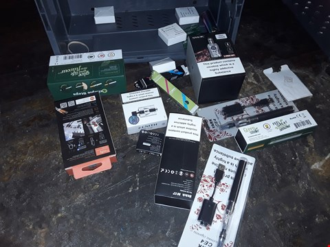 Lot 891 TRAY OF ASDORTED E-CIGARETTE KITS & ACCESSORIES (TRAY NOT INCLUDED)