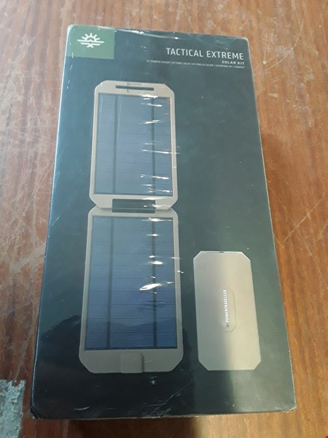 Lot 63 BOXED TACTICAL EXTREME SOLAR POWER BANK
