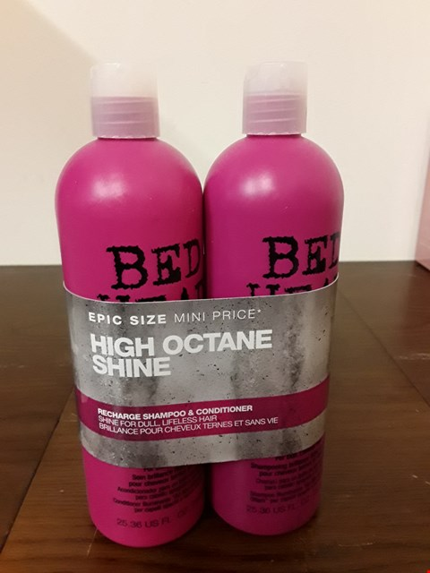 Lot 7108 TIGI BED HEAD HIGH OCTAINE SHINE SET