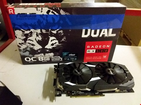 Lot 389 ASUS RADEON RX580 8GB GDDR5 GRAPHICS CARD