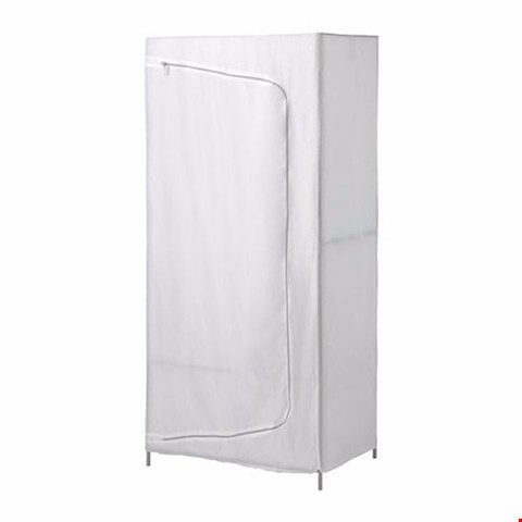 Lot 198 BOXED IDEAL WARDROBE WHITE  RRP £34.00
