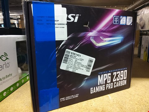 Lot 591 MSI MPG Z390 GAMING PRO MOTHERBOARD