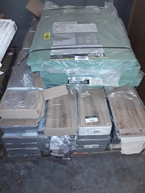 Lot 3059 LOT OF APPROXIMATELY 28 PACKS OF LAMINATE FLOORING RRP £2250