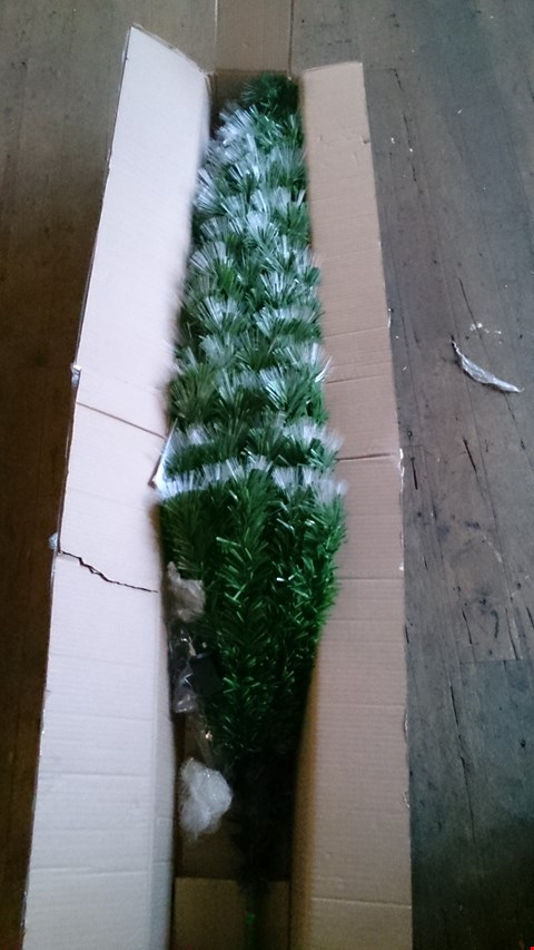 Lot 3471 A 6FT MULTIFUNCTION FIBRE OPTIC XMAS TREE. RRP £180.00