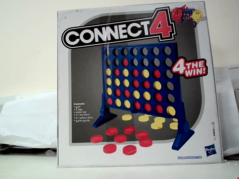 Lot 684 CONNECT 4 GAME FROM HASBRO GAMING RRP £11.99