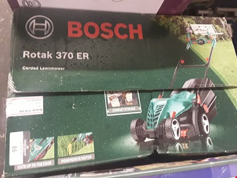 Lot 86 BOXED BOSCH ROTAK 370ER CORDED LAWNMOWER