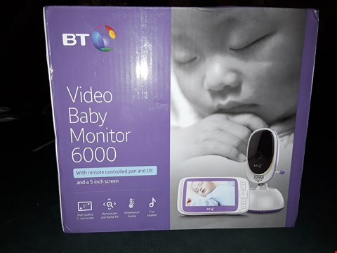 Lot 1400 BT VIDEO BABY MONITOR 6000 RRP £165