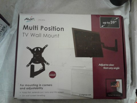Lot 2061 AVF MULTI POSITION TV WALL MOUNT