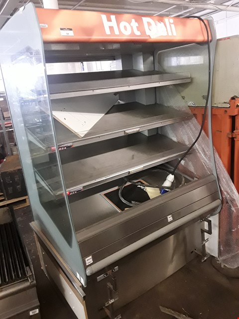 Lot 58 HOT FOOD SELF SERVICE DISPLAY CABINET 1250mm
