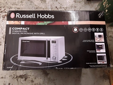 Lot 396 RUSSELL HOBBS RHM2031 COMPACT MICROWAVE