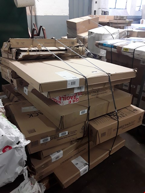 Lot 7130 PALLET OF ASSORTED FLAT PACK KITCHEN ITEMS