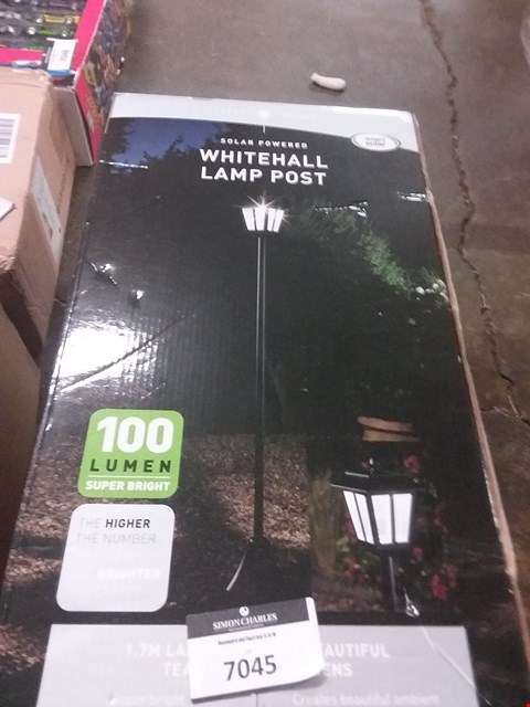 Lot 2080  WHITEHALL HIGH LUMEN LAMPOST RRP £49.99