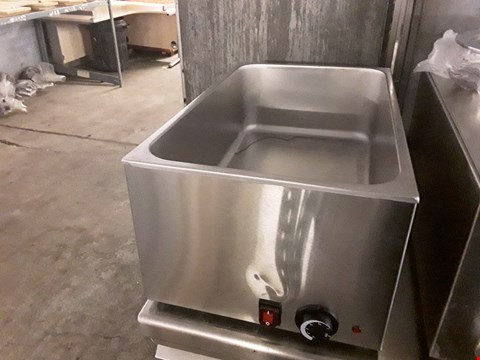 Lot 13553 COMMERCIAL STAINLESS STEEL WET WELL BAIN MAIRE