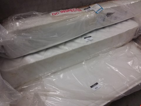 Lot 611 BAGGED 120CM MATTRESS