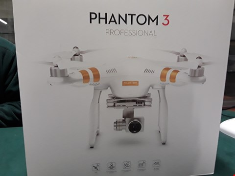 Lot 1013 DJI PHANTOM 3 PROFESSIONAL DRONE   RRP £1529