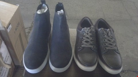 Lot 7007 BOX OF 8 ASSORTED MENS TRUSTYLE SHOES AND BOOTS