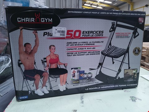 Lot 9160 BOXED CHAIR GYM
