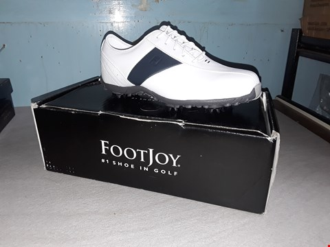 Lot 65 FOOT JOY LOW PRO WHITE LEATHER GOLF SHOES SIZE 5