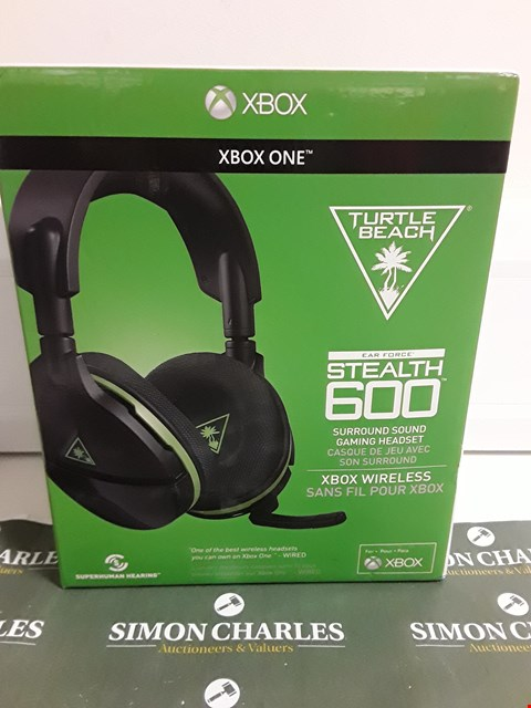 Lot 1258 TURTLE BEACH STEALTH 600 XBOX VERSION HEADSET RRP £119.99