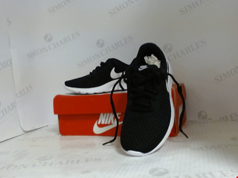 Lot 16016 BOXED PAIR OF DESIGNER NIKE TRAINERS - UK SIZE 1.5