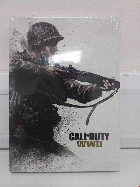 Lot 9038 CALL OF DUTY WWII COLLECTORS EDITION BOOK