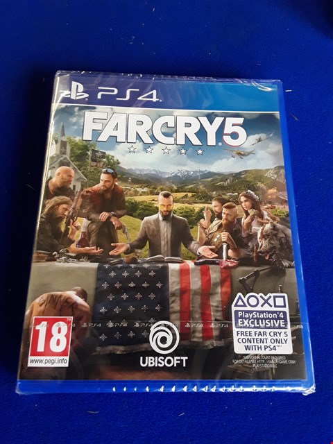 Lot 7650 FARCRY 5 PLAYSTATION 4 GAME