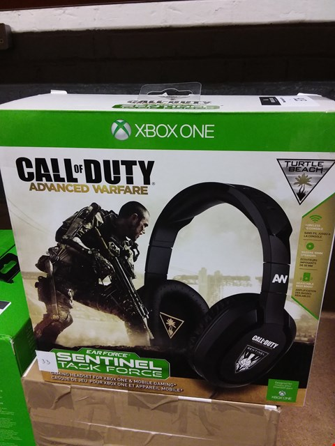 Lot 376 TURTLE BEACH XBOX ONE CALL OF DUTY EDITION GAMING HEADSET (LOT 33)