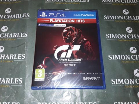 Lot 2027 GRAN TURISMO SPORT FOR PLAYSTATION 4 RRP £19.99