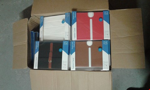 Lot 11512 BOX OF APPROXIMATELY 25 ASSORTED PROTECTIVE TABLET CASES
