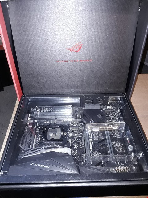 Lot 8077 ASUS ROG MAXIMUS X HERO GAMING MOTHERBOARD