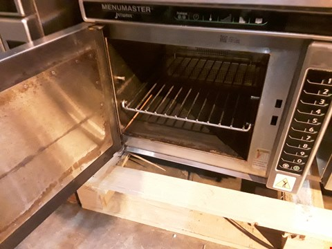 Lot 7036 MENUMASTER JETWAVE HIGH SPEED COMBINATION MICROWAVE/OVEN