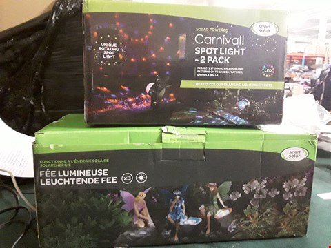 Lot 18014 FAIRY SPOTLIGHTS 3 PACK AND CARNIVAL SPOTLIGHTS 2 PACK RRP £50.00