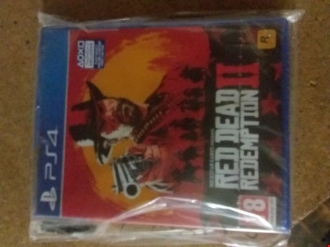 Lot 2395 RED DEAD REDEMPTION 2 FOR PS4
