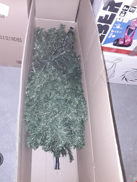 Lot 2001 GREEN REGAL FIR CHRISTMAS TREE (7FT) RRP £80