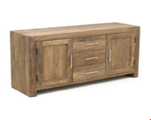 Lot 39 BRAND NEW BOXED DURBAN 2 DOOR 3 DRAWER SIDEBOARD