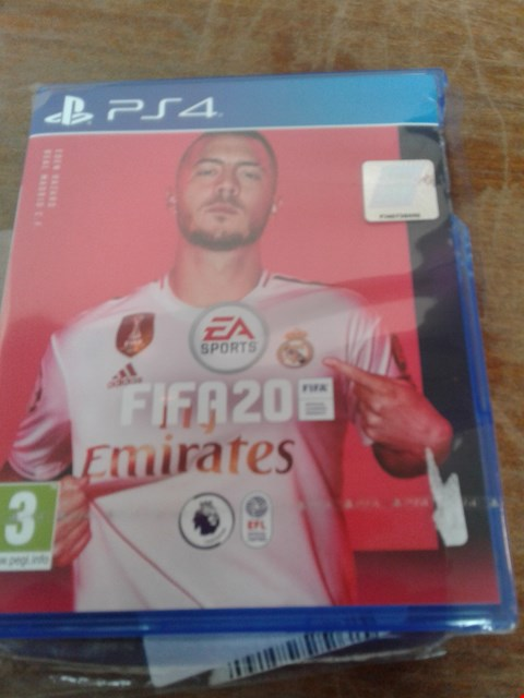 Lot 35 GRADE 1 FIFA 2020 FOR PS4 RRP £65.00