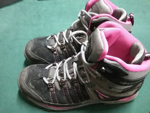 Lot 42 PAIR OF KARRIMOR HOT ROCK PINK/GREY HIKING BOOTS